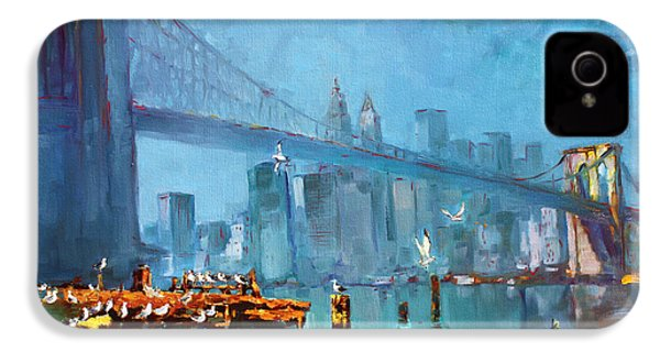 Brooklyn Bridge IPhone 4s Case by Ylli Haruni