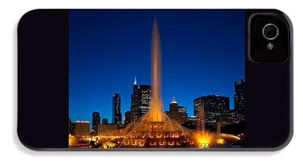 Buckingham Fountain Nightlight Chicago IPhone 4s Case