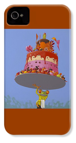 Cake IPhone 4s Case by Jasper Oostland