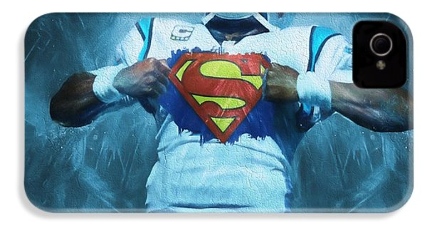 Cam Newton Superman IPhone 4s Case by Dan Sproul
