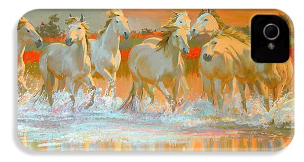 Camargue  IPhone 4s Case by William Ireland
