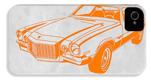 Camaro IPhone 4s Case by Naxart Studio
