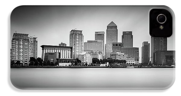Canary Wharf, London IPhone 4s Case by Ivo Kerssemakers