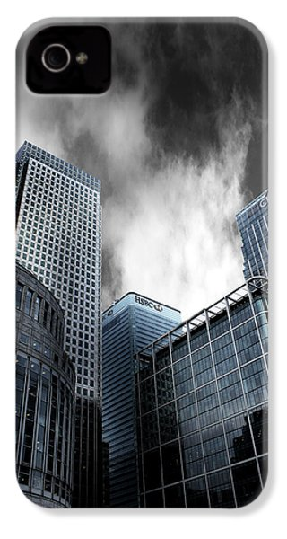 Canary Wharf IPhone 4s Case by Martin Newman