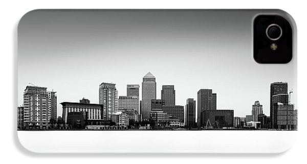 Canary Wharf Skyline IPhone 4s Case by Ivo Kerssemakers