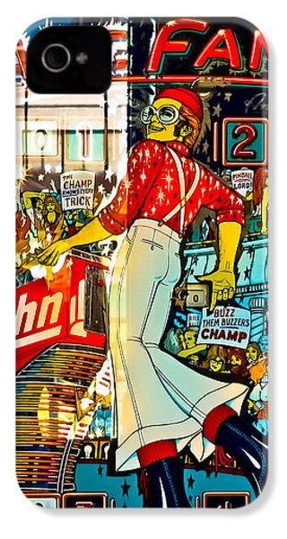 Captain Fantastic - Pinball IPhone 4s Case