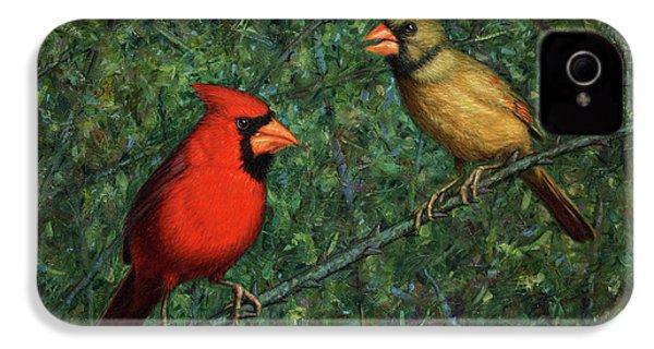 Cardinal Couple IPhone 4s Case