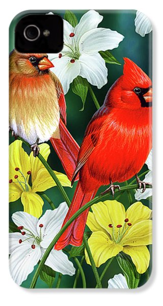 Cardinal Day 2 IPhone 4s Case by JQ Licensing