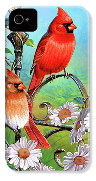 Cardinal Day 3 IPhone 4s Case by JQ Licensing