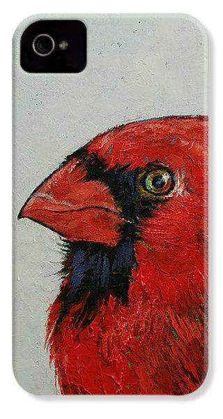 Cardinal IPhone 4s Case