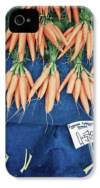 Carrots At The Market IPhone 4s Case