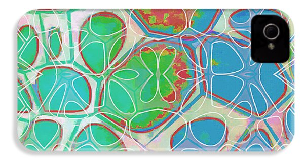 Cell Abstract 10 IPhone 4s Case
