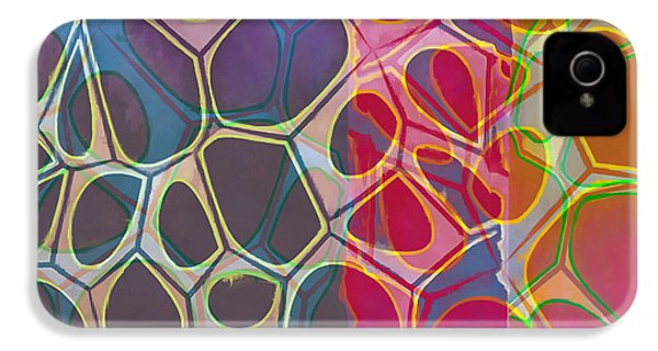Cell Abstract 11 IPhone 4s Case by Edward Fielding