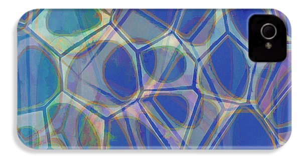 Cell Abstract One IPhone 4s Case by Edward Fielding