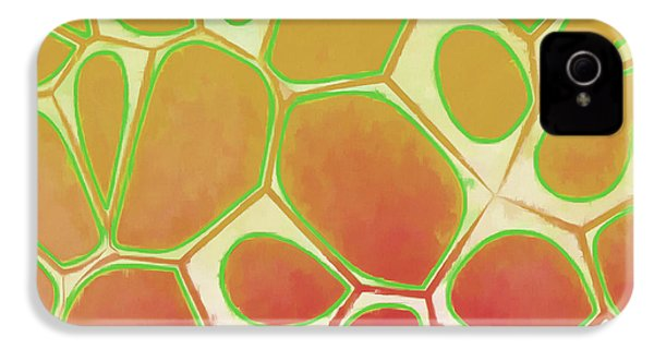 Cells Abstract Five IPhone 4s Case by Edward Fielding