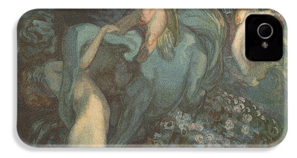 Centaur Nymphs And Cupid IPhone 4s Case