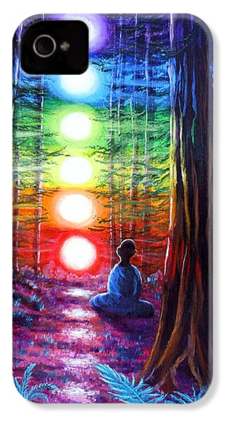 Chakra Meditation In The Redwoods IPhone 4s Case
