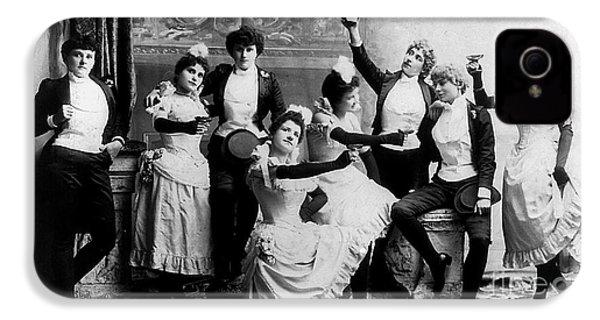 Cheers Ladies IPhone 4s Case by Jon Neidert