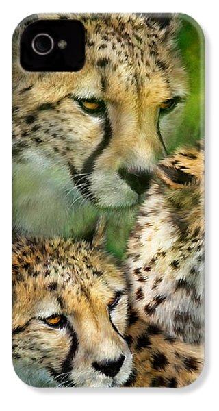 Cheetah Moods IPhone 4s Case by Carol Cavalaris