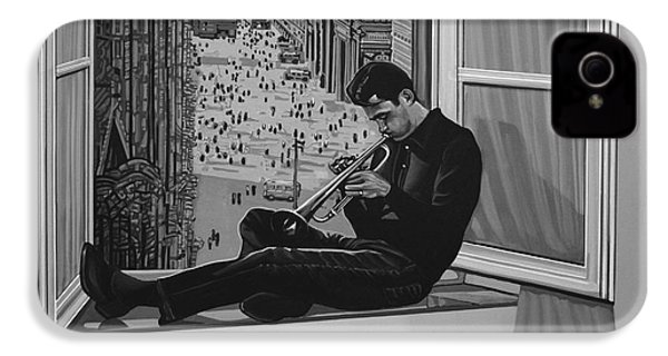 Chet Baker IPhone 4s Case by Paul Meijering
