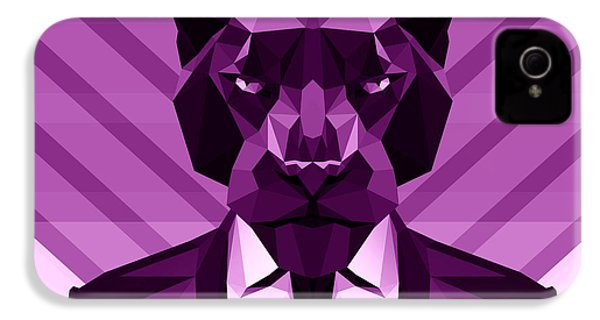 Chevron Panther IPhone 4s Case by Gallini Design