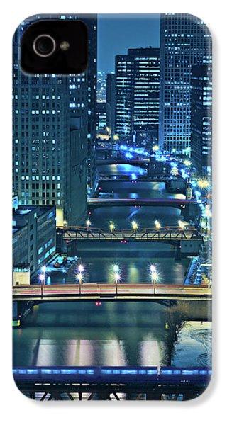 Chicago Bridges IPhone 4s Case by Steve Gadomski
