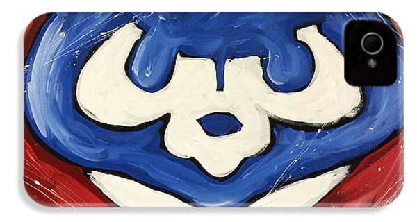 Chicago Cubs IPhone 4s Case by Elliott From