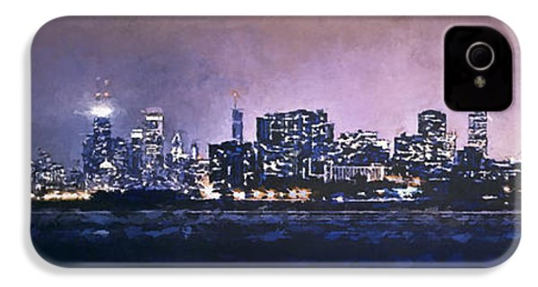 Chicago Skyline From Evanston IPhone 4s Case by Scott Norris