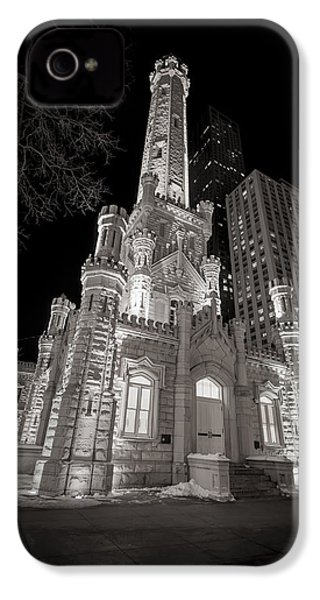 Chicago Water Tower IPhone 4s Case by Adam Romanowicz