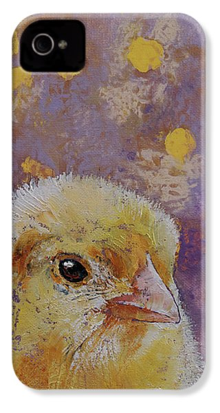 Chick IPhone 4s Case by Michael Creese