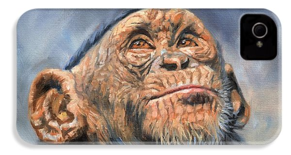 Chimp IPhone 4s Case by David Stribbling