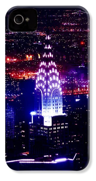 Chrysler Building At Night IPhone 4s Case