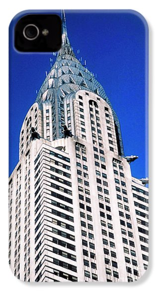Chrysler Building IPhone 4s Case by John Greim