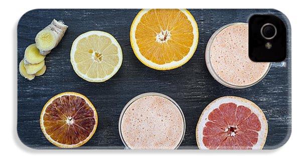 Citrus Smoothies IPhone 4s Case by Elena Elisseeva