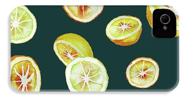 Citrus IPhone 4s Case by Varpu Kronholm