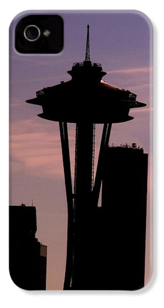 City Needle IPhone 4s Case by Tim Allen