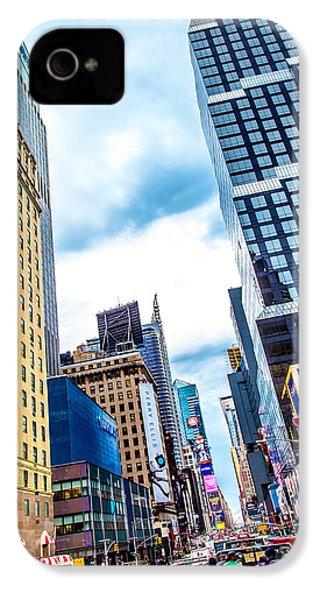 City Sights Nyc IPhone 4s Case by Az Jackson