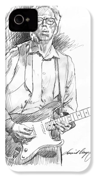 Clapton Riff IPhone 4s Case by David Lloyd Glover