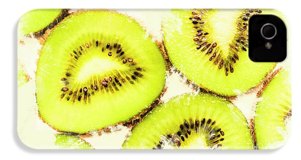 Close Up Of Kiwi Slices IPhone 4s Case by Jorgo Photography - Wall Art Gallery