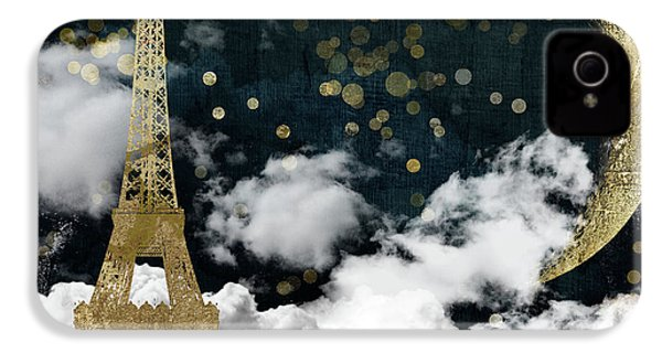 Cloud Cities Paris IPhone 4s Case by Mindy Sommers