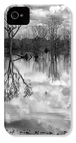Cloudy Reflection IPhone 4s Case by Hitendra SINKAR