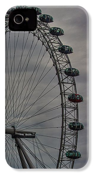 Coca Cola London Eye IPhone 4s Case by Martin Newman
