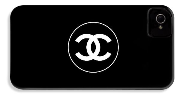 Coco Chanel IPhone 4s Case by Tres Chic