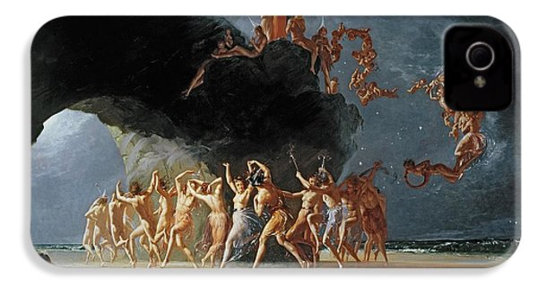 Come Unto These Yellow Sands IPhone 4s Case by Richard Dadd