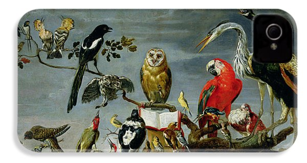 Concert Of Birds IPhone 4s Case by Frans Snijders