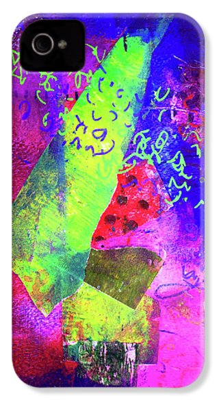 Confetti IPhone 4s Case by Nancy Merkle
