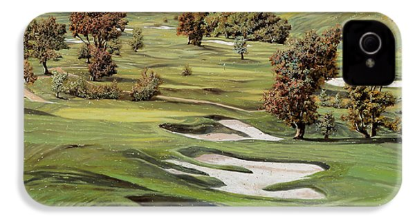 Cordevalle Golf Course IPhone 4s Case by Guido Borelli