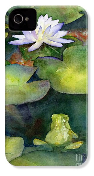 Coy Koi IPhone 4s Case by Amy Kirkpatrick