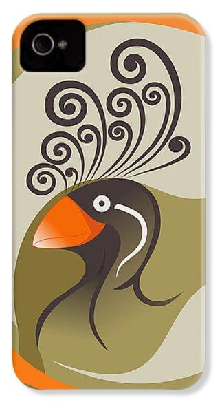crestedAUKLET IPhone 4s Case by Mariabelones ART