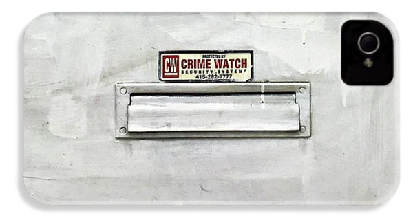 Crime Watch Mailslot IPhone 4s Case
